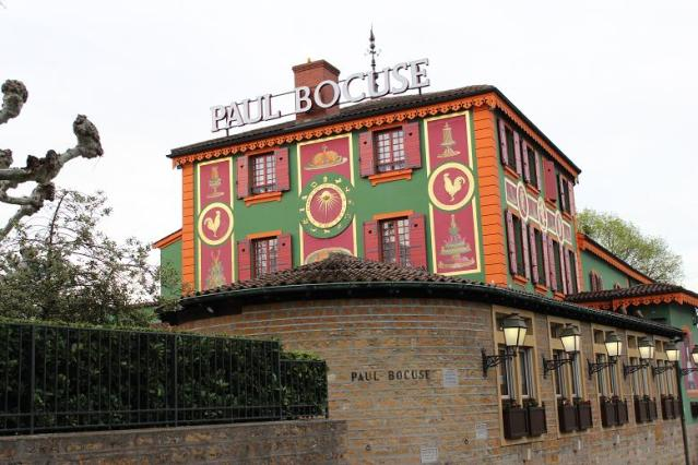 Paul Bocuse Restaurant Exterior
